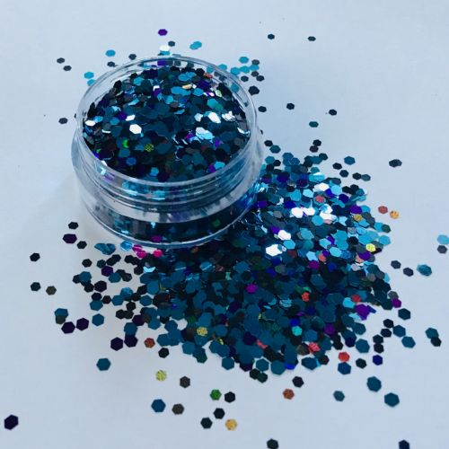 MIDNIGHT 2mm GLITTER  POT - 10g